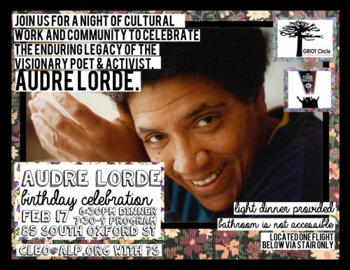 Audre Lorde Room Women S Building