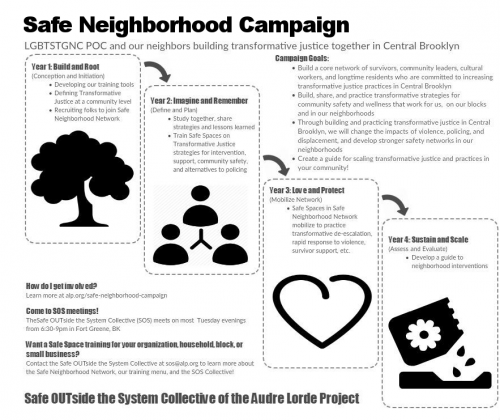 description and phases of Safe Neighborhood Campaign